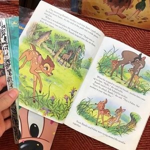 Disney Bambi Little Golden Book